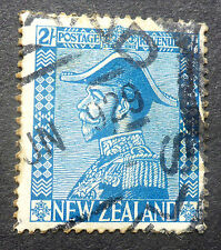 NEW ZEALAND #182  USED 2 SHILLING ISSUE CAT.$35