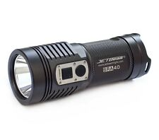 NEW JETBeam SRA40 Rechargeable LED Torch 960 Lumens Waterproof 390m Beam Camping