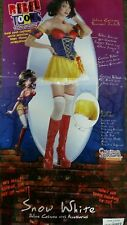 Snow White Princess costume Rebel Toon Adult Fairytale Costume new large