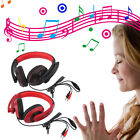 3.5mm Surround Stereo Gaming Headset Headband Headphone with Mic for PC New FE