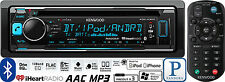 KENWOOD EXCELON EXCELON CAR STEREO BLUETOOTH CD PLAYER PANDORA iHEART USB AUX