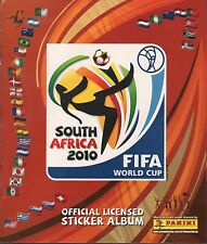Chile Version Panini 2010 FIFA World Cup South Africa album empty