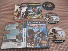 PS2 PRINCE OF PERSIA TRILOGY  PAL ESPAÑA COMPLETO PLAYSTATION 2 SONY