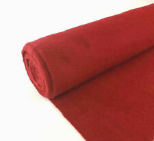 """5 Yards Red Upholstery Durable Un-Backed Automotive Trim Carpet 40""""x15 Ft Roll"""