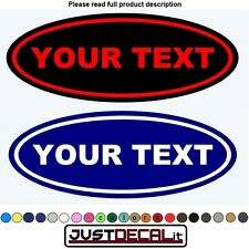2 CUSTOM EMBLEM DECAL STICKER LOGO VINYL OVERLAY TRUCK CAR FRONT BACK