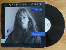 RICKIE LEE JONES signed THE MAGAZINE 1984 Record / Album COA