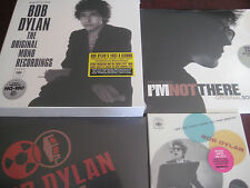 BOB DYLAN MONO LP'S 45'S & SIDE TRACKS NUMBERED 1ST EDITIONS + SOUNDTRACK 4 LPS
