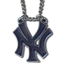"New York Yankees 22"" Chain Necklace Metal Logo MLB Licensed Jewelry LG"