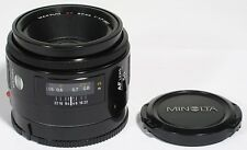 MINOLTA AF MAXXUM 50mm 1:1.7 f1.7 SHARP PRIME LENS SONY A MOUNT DIGITAL EX+