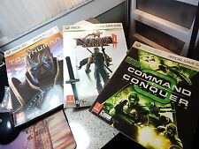 3-Count Mixed Lot Prima Xbox 360 Official Game Guide Strategy Cheat Booklets