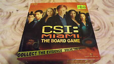 2002 CSI MIAMI BOARD GAME BY SBG GAMES  IN GOOD CONDITION