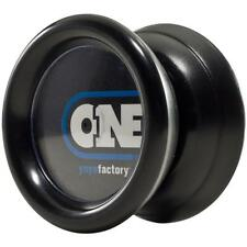 YoYoFactory ONE Easy Response Low Maintenance Black Beginner Yo-Yo