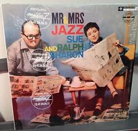 """Sue and Ralph Sharon Mr and Mrs Jazz 12"""" LP Fresh Sound Records Spain Shrink NM"""