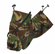 BRITISH ARMY DPM CAMOUFLAGE GAITORS - STANDARD SIZE - GRADE 1 - LIMITED STOCK