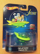 HOT WHEELS - RETRO ENTERTAINMENT SERIES - THE JETSONS - CAPSULE CAR