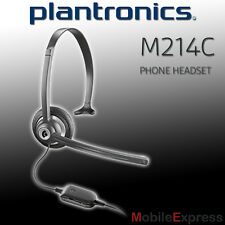 GENUINE Plantronics M214C Corded Headset Suits Cordless Phone with 2.5mm Jack