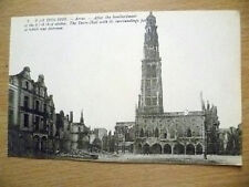 Postcard- 2. WAR 1914-1916, AFTER THE BOMBARDMENT OF THE 6,7-8 OCT, ARRAS,FRANCE