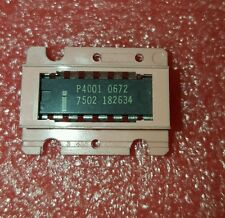 LQQK 1 psc  Grey P4001 Intel Vintage IC  4 Bit P Channel Microprocessor
