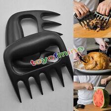 Bear Paws Claws Meat Handler Fork Tongs Pull Shred Pork Lift Toss BBQ Shredder X
