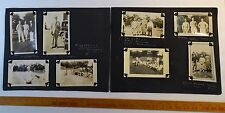 RARE 8 Orig Photos - Signed Hunk Anderson - Notre Dame Football  & Others 1930