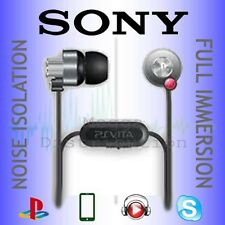ORIGINAL Sony VITA In Ear Canal NOISE ISOLATION Headphones for iPod MP3 Player
