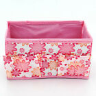 Multifunction Beauty Fad Folding Makeup Cosmetics Storage Box Organizer Flower