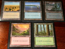 Lot de 5 terrains de base APAC - Red Pack Basic Lands - Magic mtg Rouge Opened