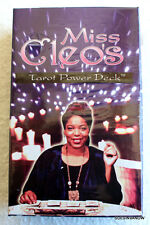 Miss Cleo's Tarot Cards POWER DECK 78 Card 22 Major Arcana sealed Shamanic deck