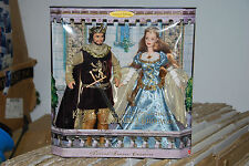 KEN AND BARBIE DOLL AS CAMELOT'S KING & QUEEN, ARTHUR AND GUINEVERE, 1999, 23880