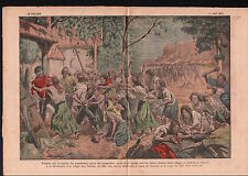 Famine Starvation October Uprising Bolshevik Revolution Russia 1921 ILLUSTRATION