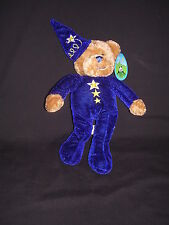 Plush Teddy Bear Sorcerer by Peek-A-Boo Toys, NWT and Free Shipping