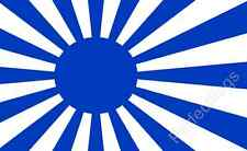JAPAN IMPERIAL NAVY BLUE FLAG - JAPANESE MILITARY FLAGS - Size 3x2 Feet