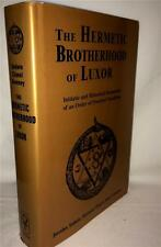 OCCULT HERMETIC BROTHERHOOD OF LUXOR OCCULT SECRET SOCIETY MAGICK SECRET SOCIETY