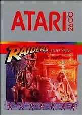 Raiders of the Lost Ark (Atari 2600 Game, 1982)***COMPLETE***DOES NOT WORK***