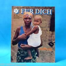 DDR FÜR DICH 30/1989 Nikaragua Giftgas Angola Urlaub Mode Neonazis BRD Eis A
