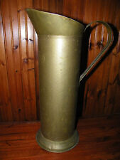 Antique Vintage Brass????  5-Kan Umbrella Holder or Fire Bucket firemen bucket