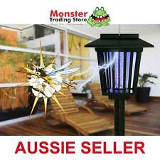 2 IN 1 SOLAR BUG & MOSQUITO ZAPPER AND GARDEN LIGHT RRP $79.00