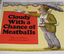 Cloudy with a Chance of Meatballs (Brand New Paperback) Judi Barrett