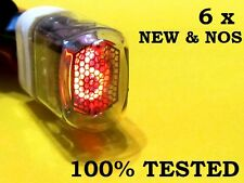 6 x new IN-17 rare NIXIE TUBES for clock (TESTED 100% NOS) FREE SHIPPING