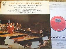 ASD 2280 Mozart Three & Two Piano Concertos / Menuhin / Ts'ong