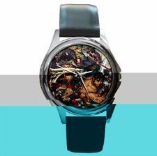 Soul Calibur 4 IV Hot Gaming leather metal wrist watch