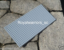 x1 Light Gray Base plate for Lego building brick grey board compatible 16x32 Dot