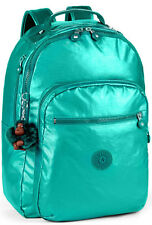 Kipling Clas Seoul Large Backpack In Metal Emerald BNWT £94