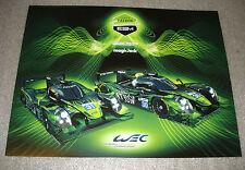 Le Mans FIA WEC 2015 ESM Extreme Speed Motorsport Honda Oak Ligier JSP2 Card