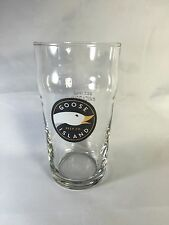 Goose Island Beer Company Brewery Beer Glass Chicago Illinois 16 Oz Pub Bar