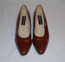 Evan Picone Womens Brown Patent Leather Pump Heels 1 3/4 Inch Heels Italy 8M