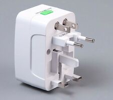 Set Of 2 Universal All in One World Travel Adapter Surge Protector (N-1001)