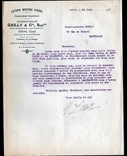 """ORVAL prés SAINT-AMAND-MONTROND (18) LAITERIE / CAMEMBERT """"GAILLY"""" en 1927"""