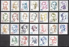 GERMANY - 'FAMOUS WOMEN'  - A  FULL SET - MINT NEVER HINGED  st