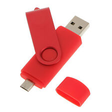 64GB Swivel USB 2.0 Flash Memory Stick Pen Drive Storage Thumb U Disk Red